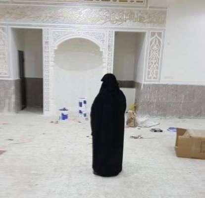 سعودی عرب: جذبۂ ایمانی سے سرشار خاتون نے تن تنہا مسجد بنوا ڈالی