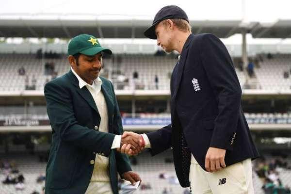 دوسرا ٹیسٹ ، پاکستان نے انگلینڈ کیخلاف ٹاس جیت لیا