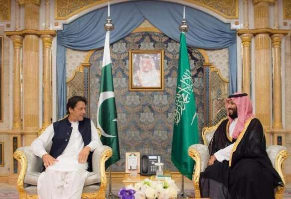 وزیر اعظم عمران خان کی سعودی عرب کے قومی دن پر پوری قوم کی جانب سے سعودی ..