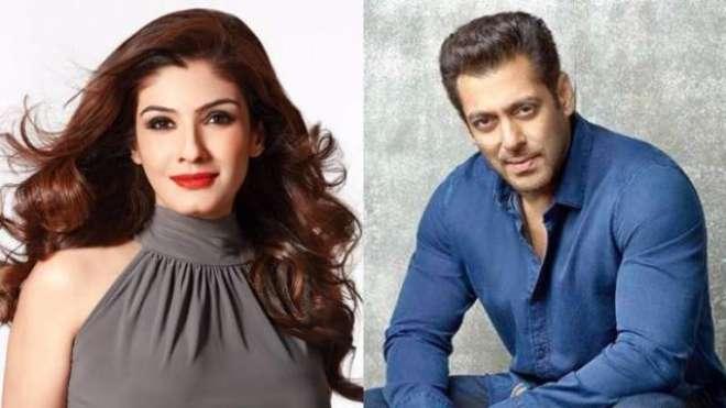 سلمان خان اور روینہ ٹنڈن 18سال بعد گیم شو ''دس کا دم'' میں ایک ساتھ ..