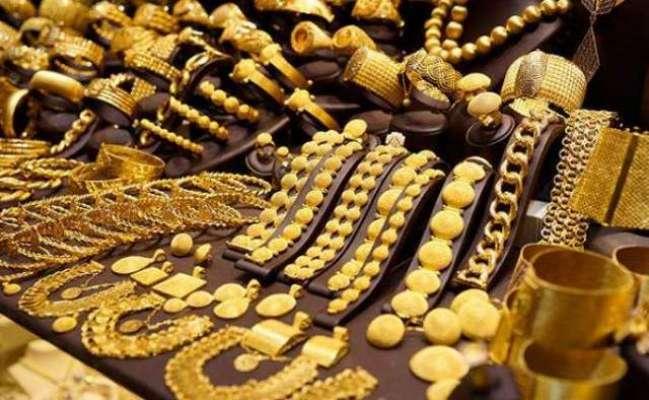 بین الاقوامی گولڈ مارکیٹ میں فی اونس سونے کی قیمت میں6ڈالرکی کمی
