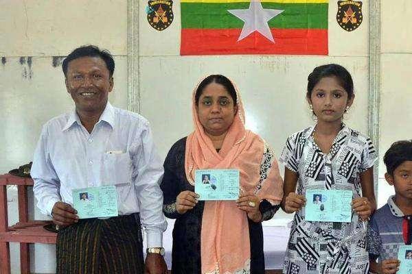 روہنگیا پناہ گزینوں کے پہلے کنبے کی بنگلہ دیش سے وطن واپسی ،کارڈ اورخوراک ..