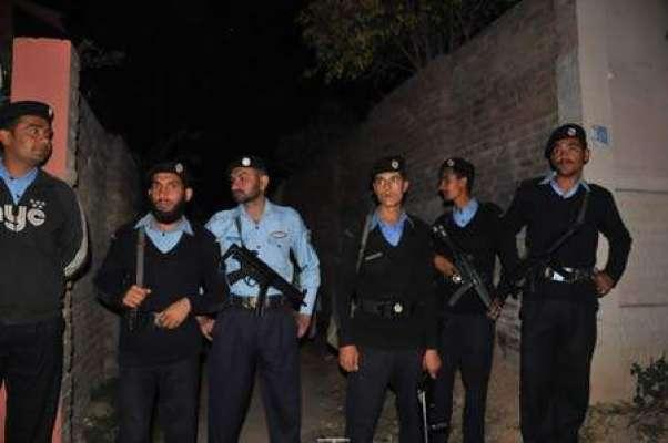 وفا قی پولیس نے ضلع بھر میں سیکو رٹی کو الر ٹ کر دیا ، اہم مقاما ت پرسیکو ..