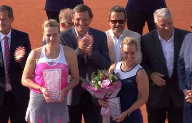 اسٹراسبرگ اوپن ٹینس ویمنز سنگلز انستاسیا پولوچینکووا نے جیت لیا