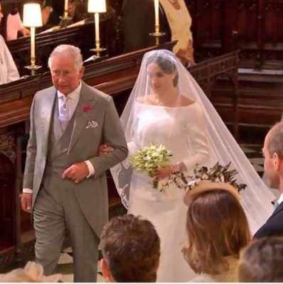 برطانوی شہزادے ہیری اور امریکی اداکارہ میگھن مارکل شادی پہلے ہی دن ..