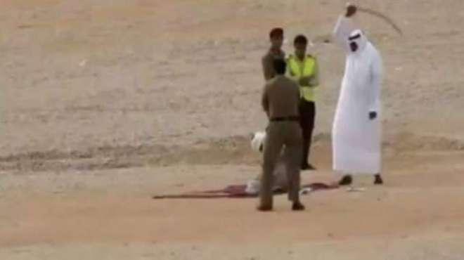 سعودی کو قتل کرنے والا پاکستانی کارکن اپنے انجام کو پہنچ گیا