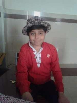 13 سالہ مشرف زبیر چیف جسٹس اور آرمی چیف کےعلاج کے وعدوں کا انتظار کر ..