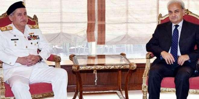 نگران وزیراعظم جسٹس (ر) ناصر الملک سے پاک بحریہ کے سربراہ ایڈمرل ظفر ..