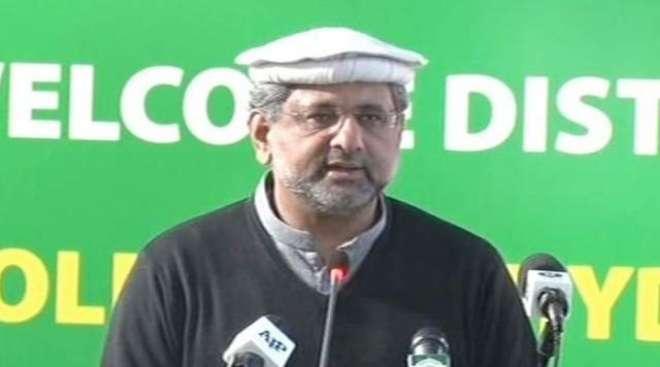 وزیراعظم شاہد خاقان عباسی سے عالمی ادارہ خوراک کے ایگزیکٹو ڈائریکٹر ..