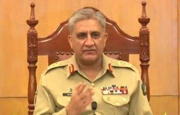 پاکستان میں آئین کے مطابق قانون کی حکمرانی چاہتے ہیں، آرمی چیف