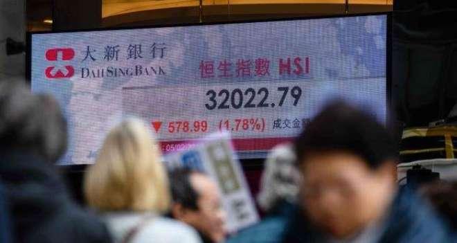 ہانگ کانگ سٹاک مارکیٹ میں تیزی