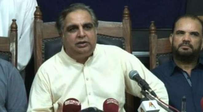 گورنر سندھ عمران اسماعیل سے میئر حیدرآباد طیب حسین کی ملاقات