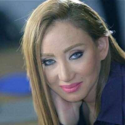 مصری اداکارہ ریہام سعید ٹریفک حادثے میں زخمی ہو گئیں