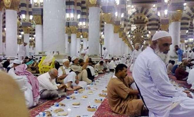 مسجد نبوی میں افطاری کی تیاری کیسے کی جاتی ہے؟