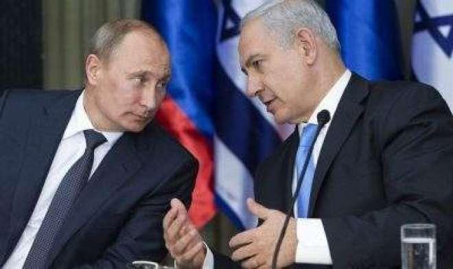 اسرائیلی وزیراعظم کا دورہ کامیاب،روس کا شام کودفاعی نظام نہ دینے کا ..
