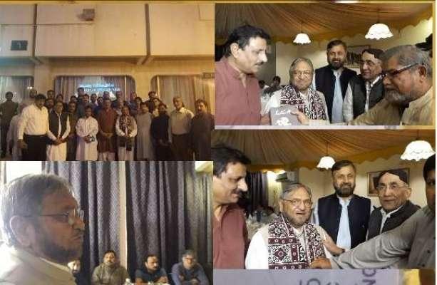 ریاض کے مقامی ہوٹل میں ریاض کی معروف سیاسی اور سماجی شخصیت چوہدری محمد ..
