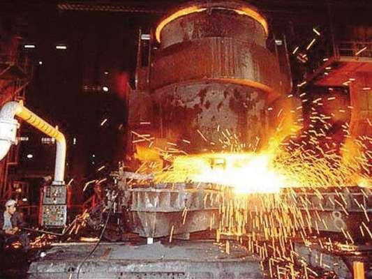سٹیل کی پیداوارمیں رواں مالی سال کی پہلی ششماہی کے دوران 37.1 فیصد اضافہ ..