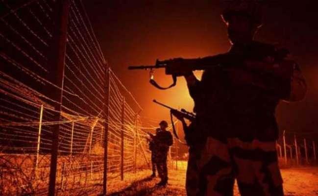 بھارتی فوج کی لائن آف کنٹرول کے نزدیک وادی لیپہ سیکٹر کی سول آبادی ..