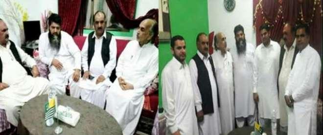 جدہ متیال ہاؤس میں کشمیر پی ٹی آئی سعودی عرب کے رہنماؤں کا ماہانہ اجلاس