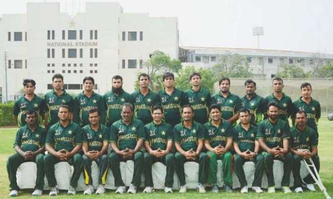 پا کستانی ڈس ایبلڈ کرکٹ ٹیم کا 27 جون سے 4 جولائی تک نیشنل سٹڈیم کراچی ..