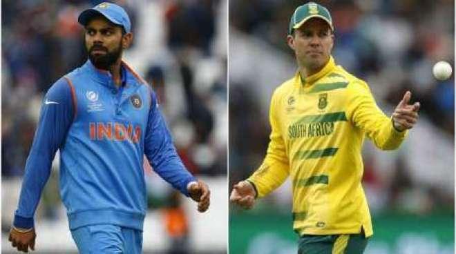 بھارت اور جنوبی افریقا کے درمیان آخری ٹی 20 میچ کل بنگلو ر میں کھیلا ..