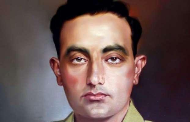 پاک فوج کے عظیم سپوت اور جنگ ستمبر کے ہیرو میجر راجہ عزیز بھٹی شہید ..