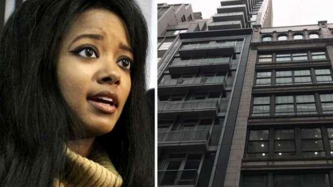 معروف ماڈل اپنے بیٹے کے ہمراہ 25 ویں منزل سے کود گئی'دونوں موقع پر ہلاک