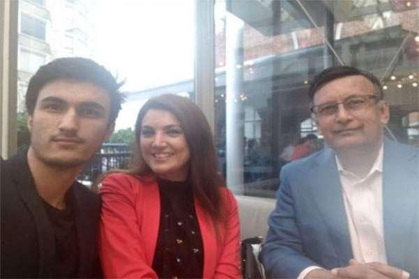 ریحام خان کی لندن میں حسین حقانی سے ملاقات