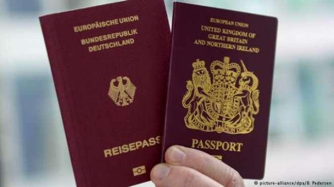 بریگزٹ کے بعد برطانوی شہریوں کی ریکارڈ تعداد نے جرمن شہریت حاصل کر ..