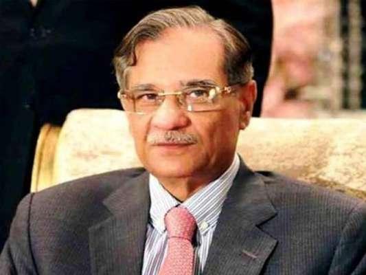 چیف جسٹس لاہور ہائیکورٹ نے چیف جسٹس پاکستان کی عیادت کی