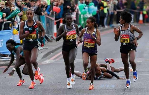 لندن ،ْ والد کی یاد میں میراتھن میں شریک شخص دوڑ کے دوران انتقال کرگیا