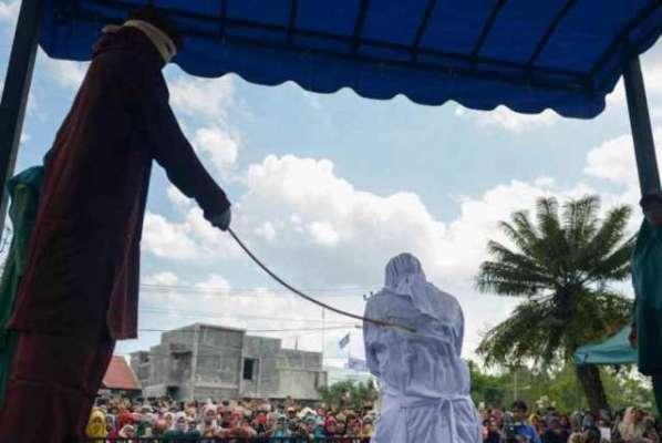پسند کی شادی کرنے پر خاتون کو 6ماہ قید، 75 کوڑوں کی سزا