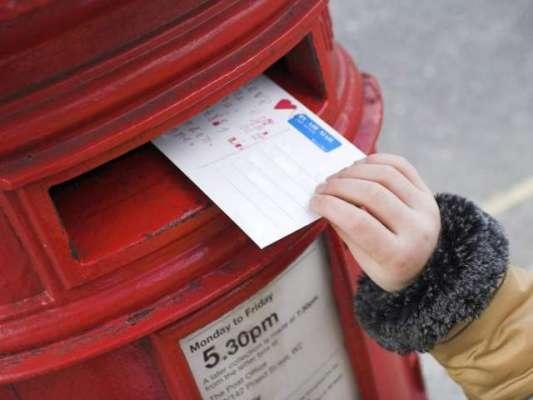 برطانوی پوسٹ نے 7 سالہ بچے کا سالگرہ کا  کارڈ   جنت میں مرحوم والد تک ..