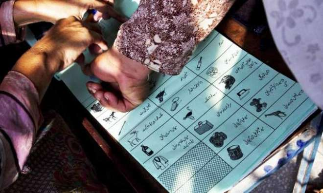 این اے 91سرگودھا کے 20پولنگ اسٹیشنز پر دوبارہ ووٹنگ کا عمل جاری