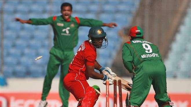زمبابوین کرکٹ ٹیم رواں سال اکتوبر میں بنگلہ دیش کا دورہ کرے گی