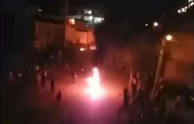 شہر کی تقسیم کے خلاف مظاہروں پر ایرانی پولیس کی فائرنگ سے دومظاہرین ..