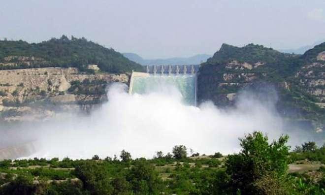 تربیلا ڈیم میں پانی کی سطح 1422.28 فٹ ، بجلی کی پیداوار 2260 میگاواٹ