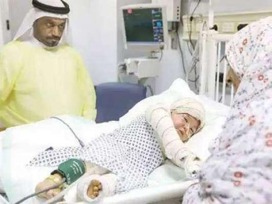 پریشر کُکر کے پھٹنے سے جھُلسنے والی ننھی بچی کی حالت سُدھرنے لگی