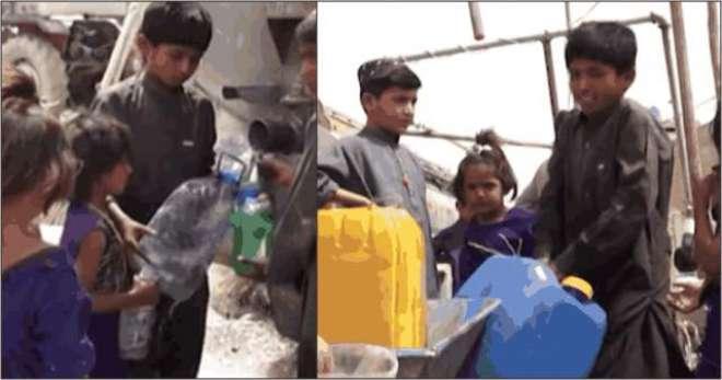 کوئٹہ کا11 سالہ بچہ روزانہ ایک کلومیٹر پیدل چل کر گھروالوں کے لیے پانی ..