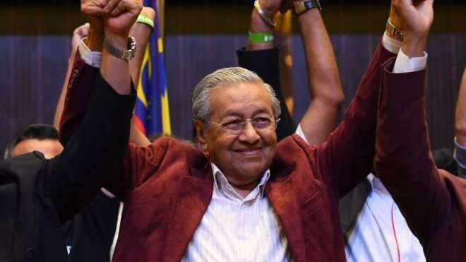 92سالہ مہاتیر محمد کی سیاست میں واپسی
