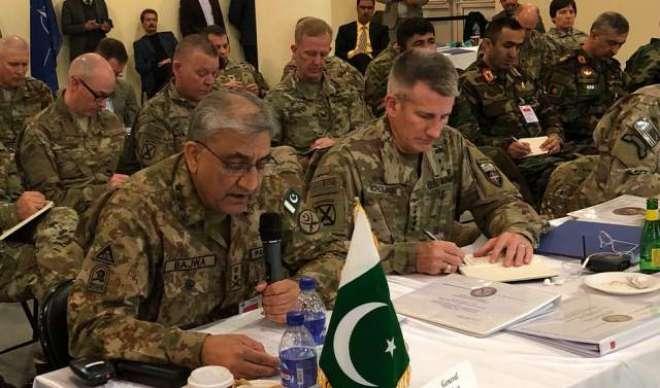 علاقائی امن واستحکام کا راستہ افغانستان سے گزرتاہے،جنرل قمر جاوید ..
