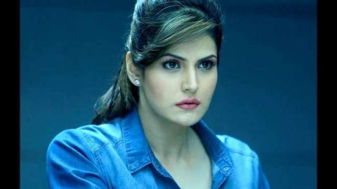 بالی ووڈ' خوبصورت آنکھوں والی اداکارہ  زرین خان 27برس کی ہو گئیں