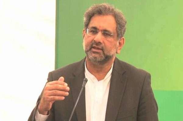 وزیر اعظم شاہد خاقان عباسی کی شجاع آباد انٹر چینج پر کام کے دوران جاں ..