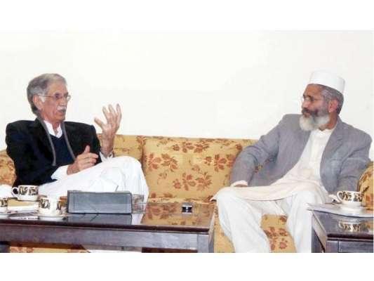جماعت اسلامی کا خیبرپختونخواہ حکومت سے علیحدگی اختیار کرنے کے فیصلے ..