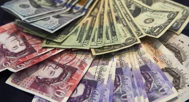 امریکی ڈالر کی شرح تبادلہ میں اضافہ،برطانوی پائونڈ عدم استحکام کا ..
