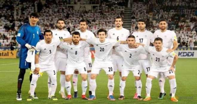 ایران کی ٹیم ورلڈ کپ فٹ بال میں شرکت کیلئے ماسکو پہنچنے والی پہلی ٹیم ..