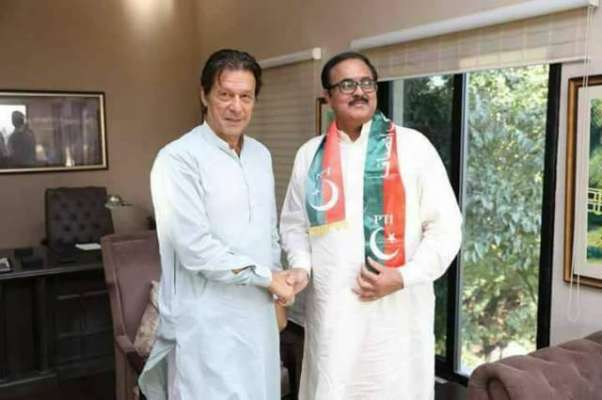 عمران خان نے فاروق بندیال کی پاکستان تحریک انصاف میں شمولیت کا نوٹس ..