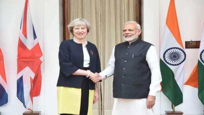 بھارت اور برطانیہ کا تاجروں اور چھوٹے اور محدود پیمانے کے کاروباری ..