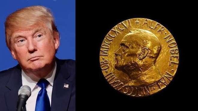 ناروے کے دو سیاستدانوں نے ڈونلڈ ٹرمپ کو نوبل امن انعام کیلئے نامزد ..