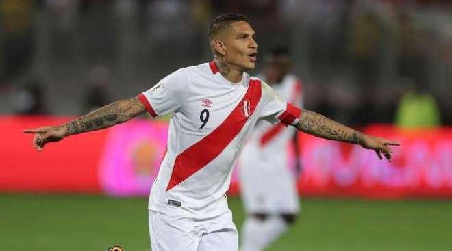 پیرو فٹ بال ٹیم کے کپتان پولو گیوریرو ڈرگ پابندی میں اضافے کے باعث ورلڈ ..